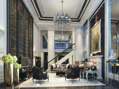 salon séjour design meubles classiques