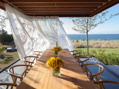 Recevoir en plein air ou l'outdoor living