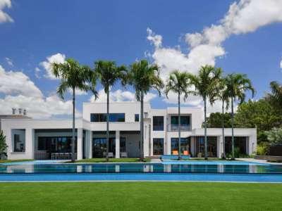 architecture contemporaine résidentielle de luxe propriété de haut standing
