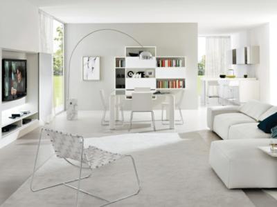 salon moderne design italien