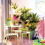 1 aménager jardin balcon de ville