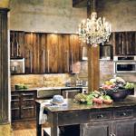 cuisine design rustique d'antan