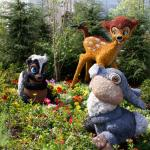 Décoration de jardin inspirée par Disney