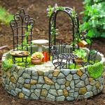 mini jardin aménagé
