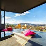 séjour design avec vue magnifique