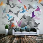 Les oiseaux en vol – un des stickers muraux en 3D