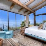Une des cinq magnifiques chambres dans la maison de luxe