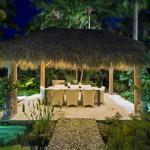outdoor living espace exotique