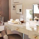 table de coiffeuse design moderne