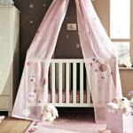 idées déco ciel de lit bébé