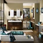 salle de bain design luxe zen