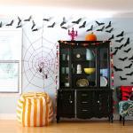 décoration Halloween intérieur maison