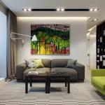 architecture intérieure décoration couleurs