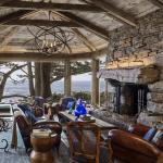 intérieur design idée décoration rustique séjour