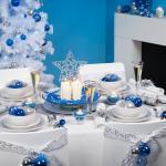 jolie décoration décorer sa table de noel