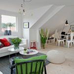 design scandinave appartement de ville