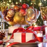 idées déco table fête fin d'année