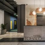 Hôtel design Tobaco Hotel en Pologne