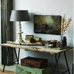 table appoint tréteaux diy