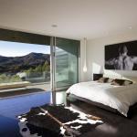 déco masculine virile chambre à coucher moderne