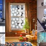 idées déco pour la maison esprit noël fenêtres