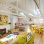 loft au séjour éclectique original