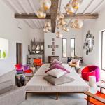 intérieur design moderne villa de vacances