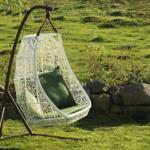 espace outdoor fauteuil suspendu design