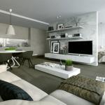 petit appartement aménagé design