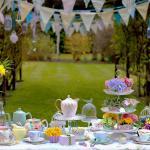 dresser une table jardin pour recevoir amis famille