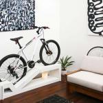 rangement vélo mobilier bas séjour maison