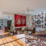 tableau décoratif intérieur maison éclectique