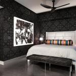 chambre couleurs moderne design contemporain