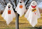 idées déco halloween fantômes