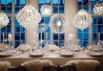 table festive table de fête idées déco dresser une table de fête