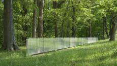 barrière de parc artistique en miroir