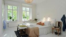 Chambre à coucher à l'inspiration nordique