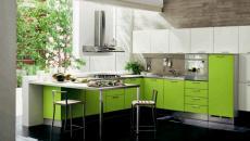 cuisine design vert 1