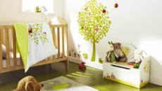 1 décoration avec stickers muraux spécial chambre bébé
