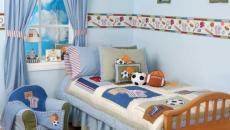 Décoration chambre enfant inspirée par le football