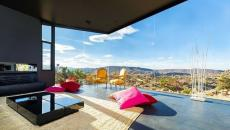 séjour design à la vue magnifique