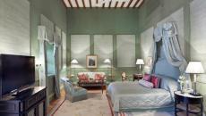 Chambre vert pastel - Taj Falaknuma Palace