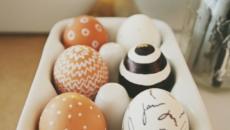 déco originale pour Pâques idées œufs
