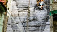 Escalier street art à Rio de Janeiro - Brésil