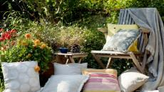 Linge de maison pour l'espace extérieur