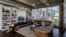 séjour style industriel inspiration brut