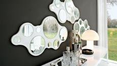 miroirs en déco intérieure futuriste