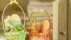 panier à œufs pour Pâques