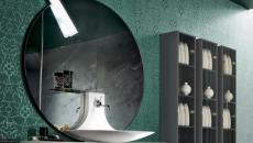 salle de bain à l'ameublement marbre