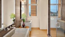 vasque en béton pour salle de bain